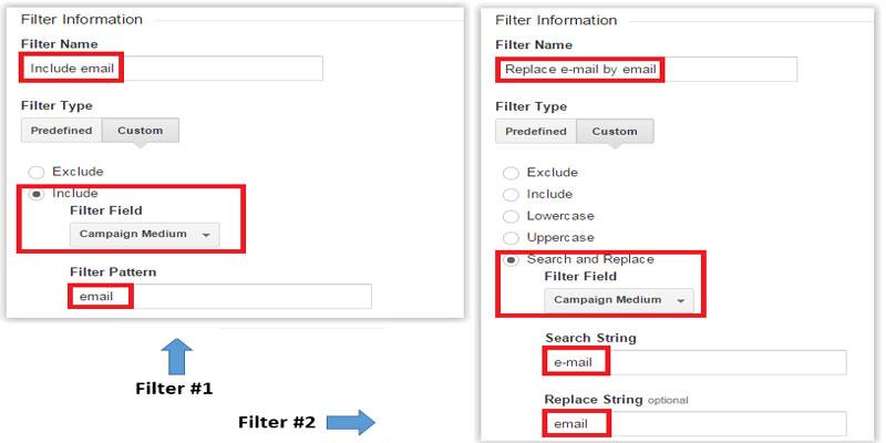 نحوه ایجاد فیلتر پیشرفته در ویو آنالیتیکس