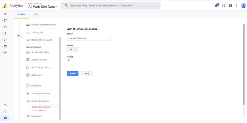 بخش دوم چگونگی ایجاد Custom Dimensions در گوگل آنالیتیکس