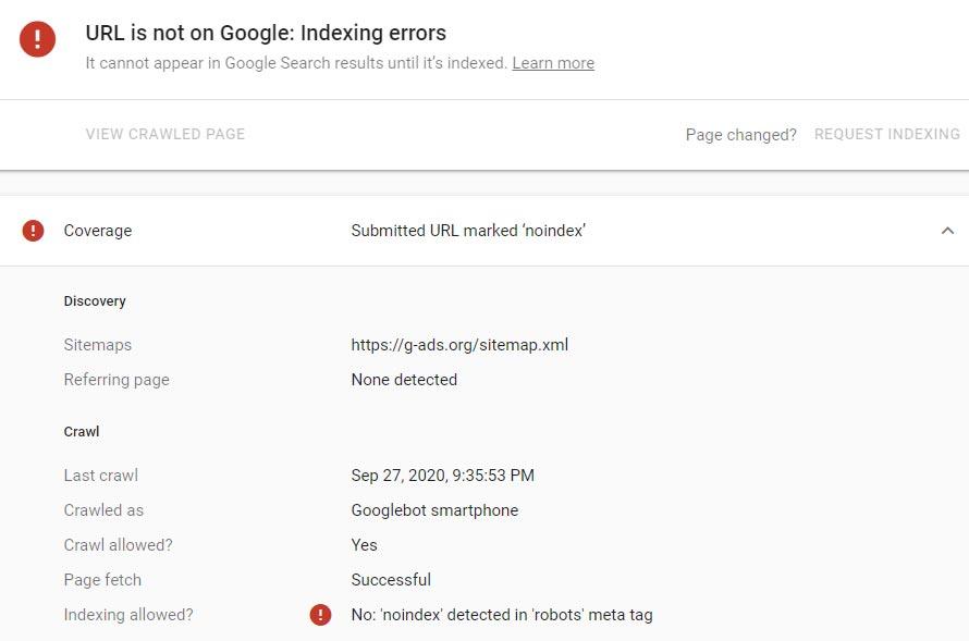 دلایلی برای توسعه دهندگان تا از گزارش URL Inspection سرچ کنسول استفاده کنند