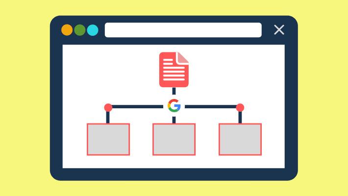 نمونه ای سایت مپ و نحوه کمک آن به گوگل برای ایندکس و کراول آدرس ها